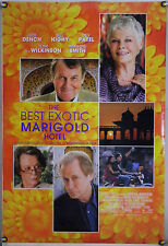 THE BEST EXOTIC MARIGOLD HOTEL DS ROLLED ORIG 1SH MOVIE POSTER JUDI DENCH (2012)
