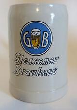 Giessener Brauhaus Brau Beer Mug Stein Ceramic Pottery Crock 0.5L