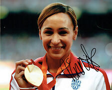 Jessica ENNIS HILL Autograph Signed Photo D AFTAL COA OLYMPIC Gold Medal WINNER