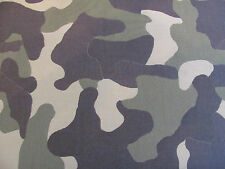 "Beautiful Perennials Fabric ""Camo Jungle"" in Green 6+ Yards"