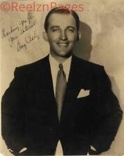 New Art Print of Autographed Celebrity Photo 8 1/2 X 11 Bing Crosby