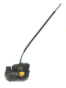 2012-13 Sonic Door Latch Assy w/Cable Right Rear 4 Door Sedan Used OEM 13579550
