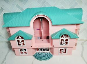 Rare Vintage 1993 Lego Mega Bloks Dollhouse Pink Mansion Fantasy Dream Home