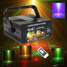 SUNY 5 Lens 80 Pattern Laser Beleuchtung RG LED DJ Party Lichteffet Projektor DE