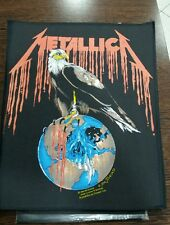 Metallica eagle 1993 vintage old stock backpatch patch slayer pushead overkill