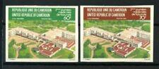 Camerun 1983 Mi. 999-1000 Nuovo ** 100% non dentellati giorni Mediche di Yaounde