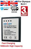 UK Battery BLH-1 for  Olympus E-M1, E-M1 Mark II, Mark II mirrorless, OM-