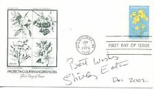 Endangered Flora US cover 1979 SIGNED Shirley Eaton