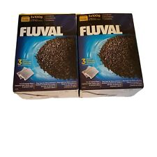 (2)Pk Fluval Activated Carbon Media External Filter 106 206 306 406 FX (3)x100g