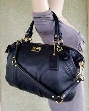 COACH lrg 15955 MADISON leather SOPHIA SATCHEL Purse Handbag tote shoulder bag