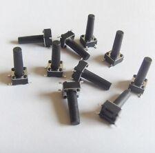 10 PULSANTI TATTILI 6X6X14 mm circuito arduino micro mini switch button PCB push