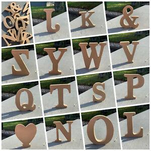 3 D Holz Buchstaben NATUR A-Z  11 cm MDF Schrift Buchstabe Zahlen