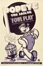 Popeye Foul Play Movie Poster 24in x 36in