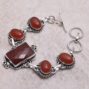Carnelian Ethnic Handmade Bracelet Jewelry 21 Gms AB 61112
