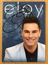 Eloy de Jong AK Kopf aus Herz an Tour Autogrammkarte original signiert