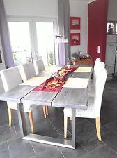 Tischgestell Esstisch Edelstahl Tischuntergestell Kufengestell 1 Paar 73x70cm