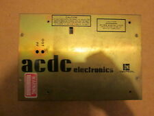 Emerson ACDC Electronics 500 Max Output 115/230 Volt Input Power Supply