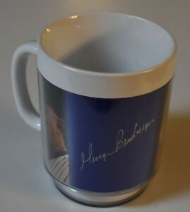 Original 1980's GEORGE BAMBERGER Thermo-Serv Milwaukee Brewers CUP Maxwell House