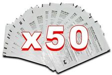 Box of 50 Dollar Bill Validator Cleaning Cards for vending machine bill acceptor