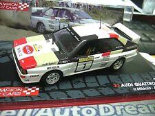 AUDI Quattro Rallye Gr. B Finland Mikkola Winner 1983 Edition IXO Sonderpr 1:43
