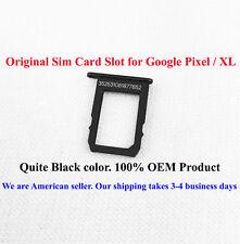 SIM Card Slot Holder Tray For Google Pixel and Google Pixel XL Quite Black