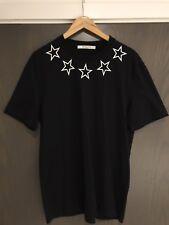 Givenchy Black Star T shirt Size:XL Cuban Fit