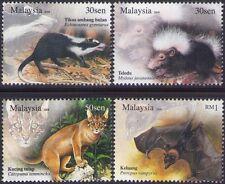 Malaysia 2008 Nocturnal Animals MNH