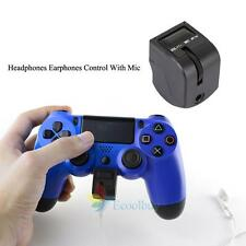 Controller Headphone Headset Earphones Mic Adapter for Sony PlayStation 4 PS4 US