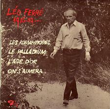 LEO FERRE LES ROMANTIQUES FRENCH ORIG EP JEAN-MICHEL DEFAYE