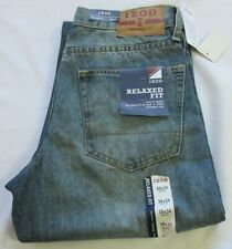 Izod Relaxed Fit Blue Men Jeans 30 X 34