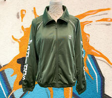 New Without Tags Womens Adidas Hoodie Size 10 Sports Jacket Khaki Green Loose