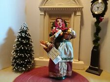 Byers Choice Carolers Baboushka Lady with Baskets Nesting Dolls Breads Gifts