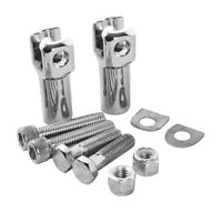 Rear Passenger Footpeg Supports Mounts For Harley Softail 2000-2006 2005 2004