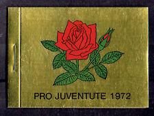 Schweiz MH **  MiNr 0-63 Pro Juventute 1972