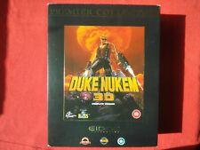 DUKE NUKEM 3D BIG BOX - PC - PREMIER COLLECTION - INCLUDES MANUAL - 1996