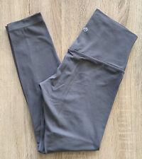"""Lululemon Grey Align Leggings 25"""" Full Length 7/8  6 US 10 UK Yoga Gym Gray"""