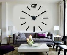 Horloge Murale géante design, moderne, 90-100 cm Neuve noir lire annonce