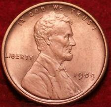 1909 VDB Philadelphia Mint Copper Lincoln Wheat Cent