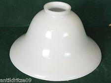 Lampenschirm E 14  E 27 Ersatz Glasschirm seidig weiß für Wand Steh Hängelampe