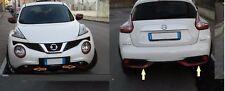 per Nissan Juke 2014 cover cornici paraurti anteriore+posteriore+di colore rosso