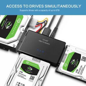 SATA to USB IDE Adapter USB 3.0 Sata 2.5 3.5 Hard Disk Drive HDD SSD USB
