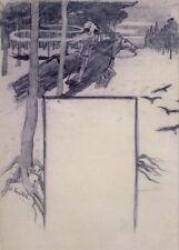 Fantasy, 1897, SANTIAGO RUSINOL Spanish Art Poster