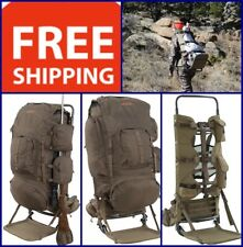 Large Hunting Rifle Backpack Frame Bag Outdoor Hiking Fishing Camping Travel New