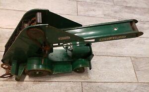 Vintage DOEPKE MODEL TOYS BARBER-GREEN MOBILE BUCKET LOADER WHEELED GOOD