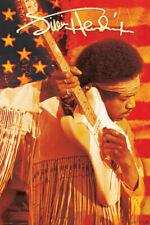 JIMI HENDRIX - AMERICAN FLAG POSTER - 24x36 MUSIC 241452