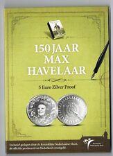 5 EURO 150 JAAR MAX HAVELAAR 2010 ZILVER PROOF BLISTER