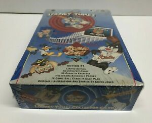 Upper Deck LOONEY TUNES Comic Ball Trading Card Box (36 packs) * sealed box