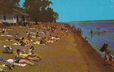 Beach Municipal Park L'ile St. Quentin Trois Rivieres Quebec PQ - Chrome - 1985