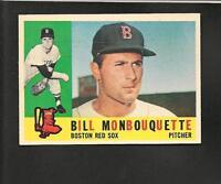 1960 Topps # 544 Bill Monbouquette Ex-Mt