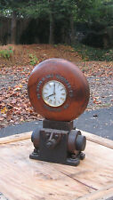 Trenton New Jersey Industrial Antique Wood Foundry Mold Clock Scudder Co.